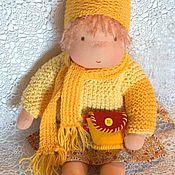 Куклы и игрушки ручной работы. Ярмарка Мастеров - ручная работа Текстильная кукла Пухляшка. Handmade.
