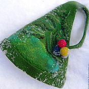 """Для дома и интерьера ручной работы. Ярмарка Мастеров - ручная работа Колпак """" Банный"""" Новогодний. Handmade."""