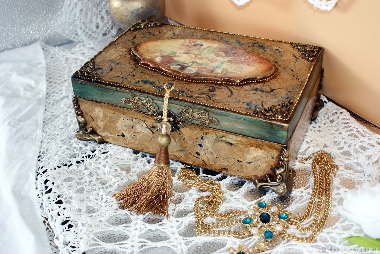 casket with angels, Box, Neftekamsk,  Фото №1