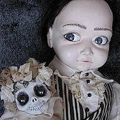 Куклы и игрушки ручной работы. Ярмарка Мастеров - ручная работа Пуберт Аддамс & Офелия. Handmade.