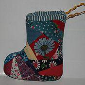 Подарки к праздникам ручной работы. Ярмарка Мастеров - ручная работа Сапожок для подарков. Handmade.
