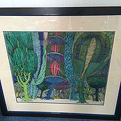 Картины и панно ручной работы. Ярмарка Мастеров - ручная работа Волшебный лес. Handmade.