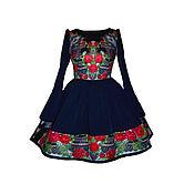 """Одежда ручной работы. Ярмарка Мастеров - ручная работа Платье """"Аркадия"""" заказное. Handmade."""