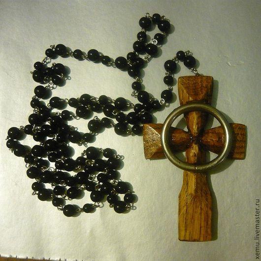 """Украшения для мужчин, ручной работы. Ярмарка Мастеров - ручная работа. Купить Кельтский крест из кф """" Святые из Бундока"""". Handmade."""