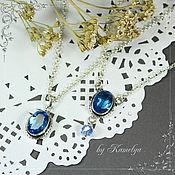 Украшения handmade. Livemaster - original item pendant / choker necklace with quartz