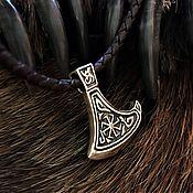 Русский стиль handmade. Livemaster - original item The axe of Perun with Kolowrat. Handmade.