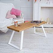 Для дома и интерьера handmade. Livemaster - original item Coffee table made of oak slab. Handmade.