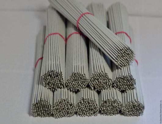 Другие виды рукоделия ручной работы. Ярмарка Мастеров - ручная работа. Купить Трубочки бумажные (бумажная лоза) для плетения неокрашенные 30 см. Handmade.