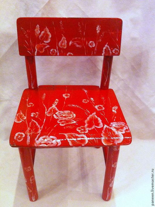 Панова Анна. Ручная роспись. Детская мебель. Реставрация.