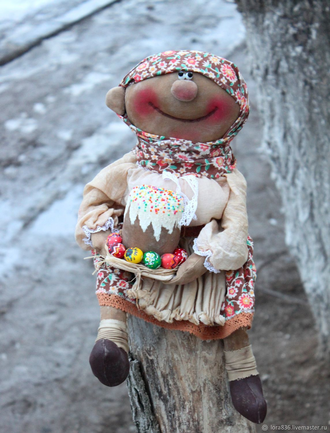 Baba Manya with Easter, Dolls, Volzhsky,  Фото №1