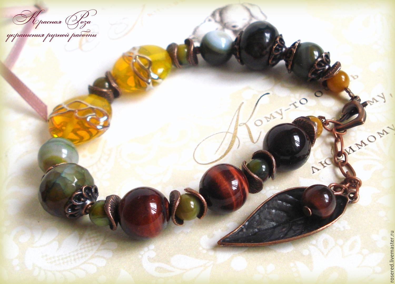 Necklace 'Lorien', Bead bracelet, Stupino,  Фото №1