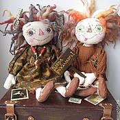 Куклы и игрушки ручной работы. Ярмарка Мастеров - ручная работа Домовята, за печкой. Handmade.