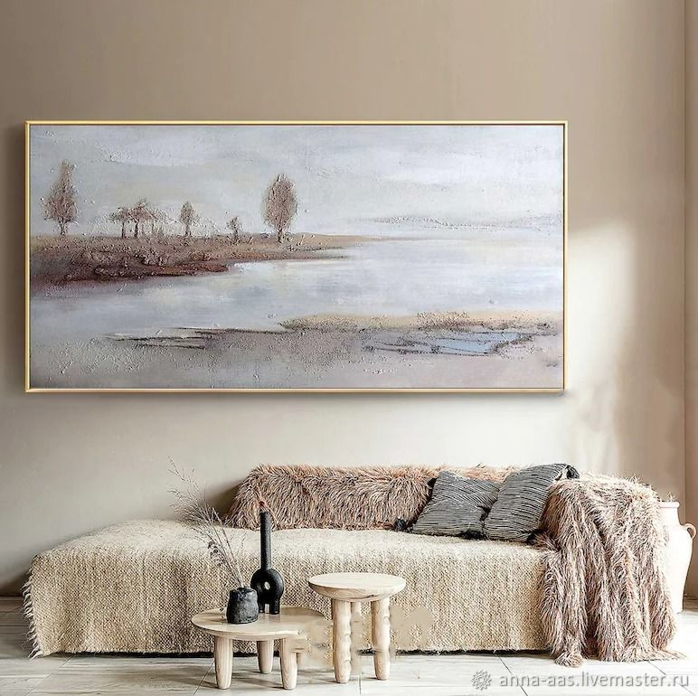 Картина маслом в интерьер пейзаж, Картины, Санкт-Петербург,  Фото №1