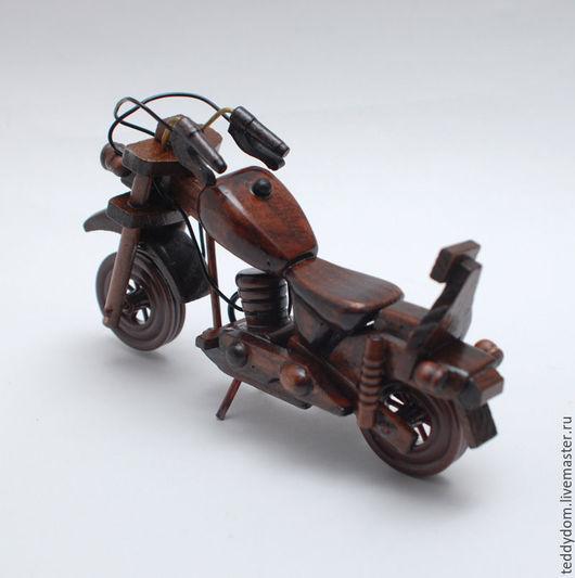 Куклы и игрушки ручной работы. Ярмарка Мастеров - ручная работа. Купить Деревянный мотоцикл. Handmade. Бежевый, деревянный аксессуар