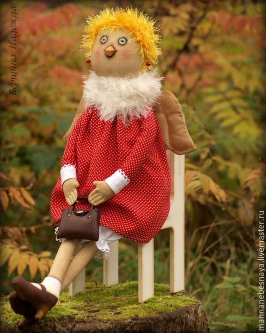 Ароматизированные куклы ручной работы. Ярмарка Мастеров - ручная работа. Купить Мадам Курочкина. Ароматизированная кукла. Символ 2017г.. Handmade.