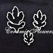 Материалы для творчества handmade. Livemaster - original item Cutter chrysanthemum leaves 3, plastic. Handmade.