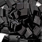 Материалы для творчества ручной работы. Ярмарка Мастеров - ручная работа Миюки ТИЛА 401 opaque black 10гр. Handmade.