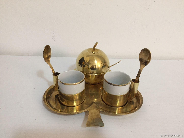 Винтаж: Набор для кофе на двоих, Винтажные сервизы, Милан, Фото №1