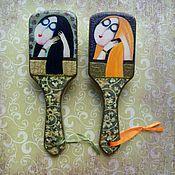 Сувениры и подарки ручной работы. Ярмарка Мастеров - ручная работа Деревянные расчески Дивы. Handmade.