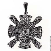 Фен-шуй и эзотерика handmade. Livemaster - original item Cress with Kolovrat silver. Handmade.