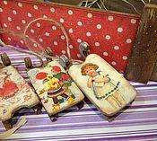Подарки к праздникам ручной работы. Ярмарка Мастеров - ручная работа Саночки деревянные новогодние Ретро( цена за 1 шт). Handmade.