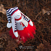 Куклы и игрушки ручной работы. Ярмарка Мастеров - ручная работа Зайка Гномик. Handmade.