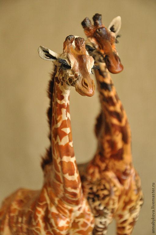 Поделки из глины жираф 23
