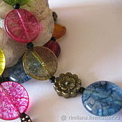 Украшения handmade. Livemaster - original item Necklace:Necklace