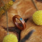 Украшения handmade. Livemaster - original item Copy of Copy of Copy of Copy of Wooden rings (paduk,garnet ). Handmade.