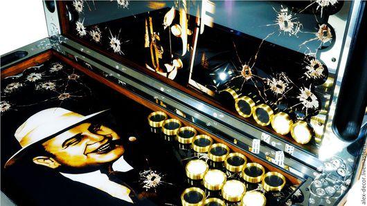 Настольные игры ручной работы. Ярмарка Мастеров - ручная работа. Купить Эксклюзивные нарды с вашим изображением  (серия PM). Handmade.