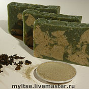 """Косметика ручной работы. Ярмарка Мастеров - ручная работа Натуральное мыло """"Зеленый чай"""". Handmade."""
