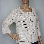 Одежда handmade. Livemaster - original item Jacket cashmere-Angora - Merino Chanel. Handmade.
