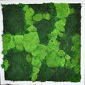 Картины и панно ручной работы. Ярмарка Мастеров - ручная работа Лесная поляна. Handmade.