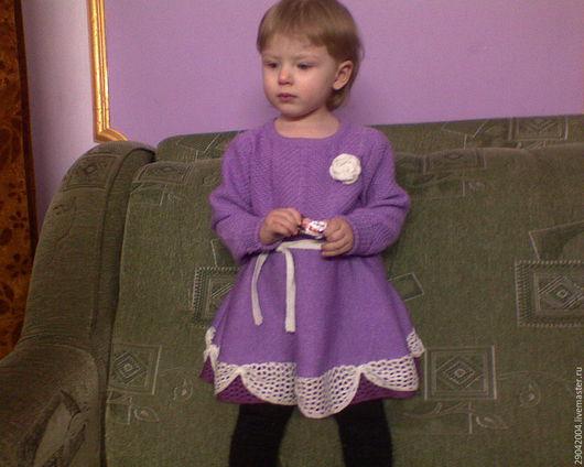 """Одежда для девочек, ручной работы. Ярмарка Мастеров - ручная работа. Купить Платье детское """"ЧАРОВНИЦА"""". Handmade. Сиреневый, одежда для девочек"""