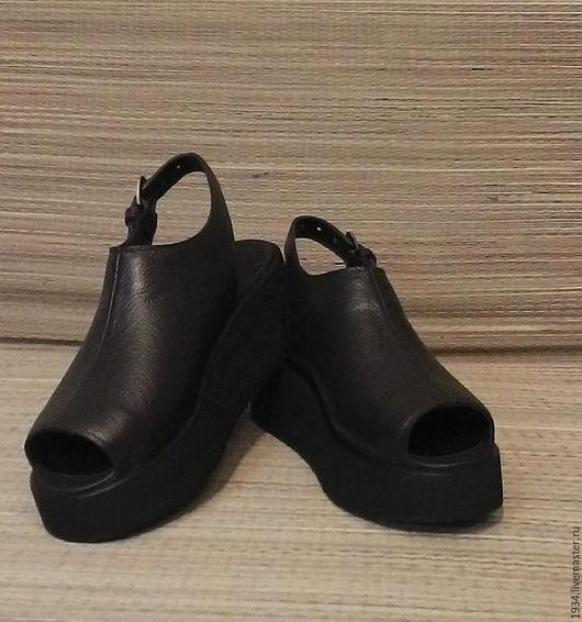 Обувь ручной работы. Ярмарка Мастеров - ручная работа. Купить Босоножки C-2. Handmade. Коричневый, кожа натуральная
