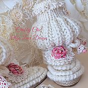 Обувь ручной работы handmade. Livemaster - original item Knitted boots