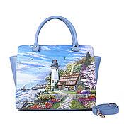 Сумки и аксессуары handmade. Livemaster - original item Medium satchel