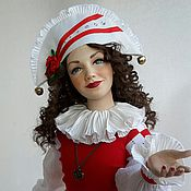 Куклы и игрушки ручной работы. Ярмарка Мастеров - ручная работа интерьерная авторская кукла Арлет. Handmade.