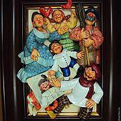 """Картины и панно ручной работы. Ярмарка Мастеров - ручная работа """"Портрет"""". Handmade."""