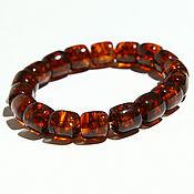Сувениры и подарки handmade. Livemaster - original item Men`s amber bracelet