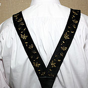 Аксессуары handmade. Livemaster - original item Men`s embroidered suspenders Historical reconstruction. Handmade.