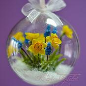 Подарки к праздникам handmade. Livemaster - original item Christmas balls