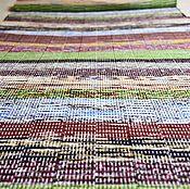 Для дома и интерьера ручной работы. Ярмарка Мастеров - ручная работа Домотканый половик (№ 220). Handmade.