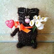 """Куклы и игрушки ручной работы. Ярмарка Мастеров - ручная работа Игрушка """"Влюбленный кот"""". Handmade."""