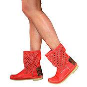 Обувь ручной работы handmade. Livemaster - original item 50% discount!! Summer preparirovanie boots ROMBO (al) in the presence of-40. Handmade.