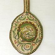 """Народные сувениры ручной работы. Ярмарка Мастеров - ручная работа Латка """"Стерлядь"""" старинная деревянная. Handmade."""
