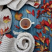 """Сувениры и подарки ручной работы. Ярмарка Мастеров - ручная работа Фотофон деревянный брашированный """"Осенние сумерки"""". Handmade."""