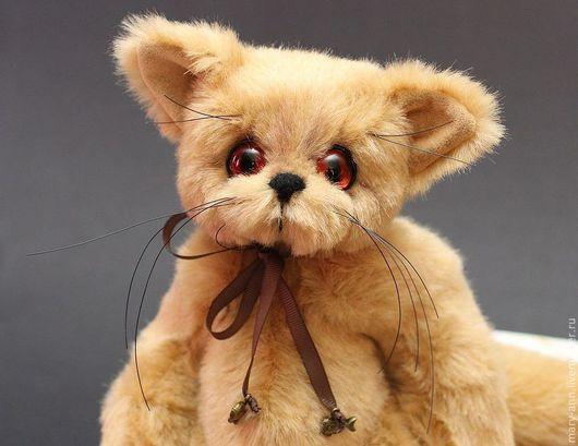 Мишки Тедди ручной работы. Ярмарка Мастеров - ручная работа. Купить Василий. Handmade. Бежевый, немецкий плюш