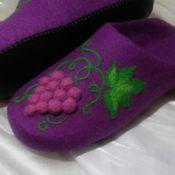 Обувь ручной работы. Ярмарка Мастеров - ручная работа Изабелла. Валяные тапочки.. Handmade.
