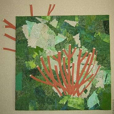 """Картины и панно ручной работы. Ярмарка Мастеров - ручная работа """"Весна зелени"""". Handmade."""